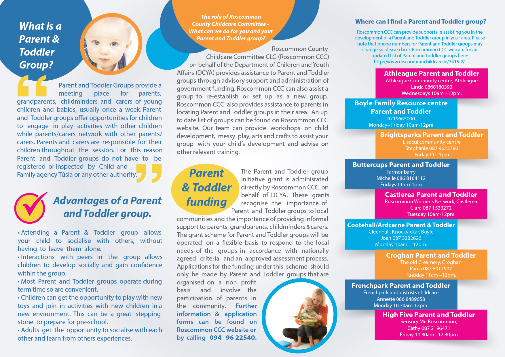 Parent & Toddler Groups - Roscommon Childcare Committee